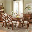 Broyhill Furniture Samana Cove 7 Piece Adjustable Height Leg - Item Number: 4702-532+2x580+4x581