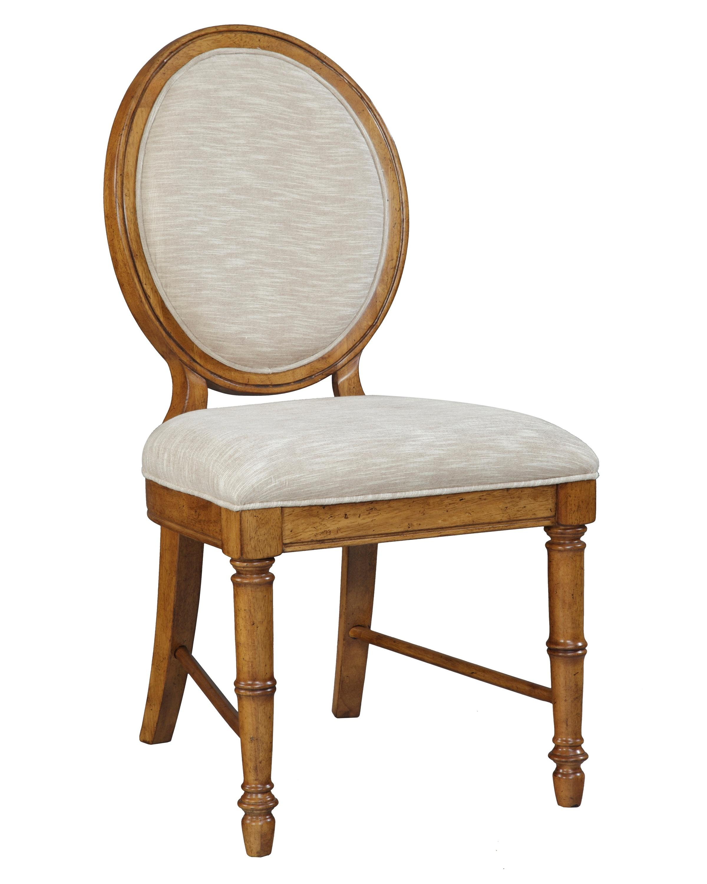 broyhill furniture samana cove upholstered dining side chair with