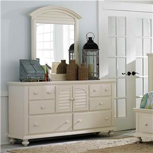 Broyhill Furniture Seabrooke Dresser & Mirror