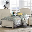 Broyhill Furniture Seabrooke Twin Panel Bed with Storage Footboard - Item Number: 4471-246+247+451