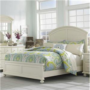 Broyhill Furniture Seabrooke Queen Panel Bed & Beds | Tampa St Petersburg Orlando Ormond Beach u0026 Sarasota ...
