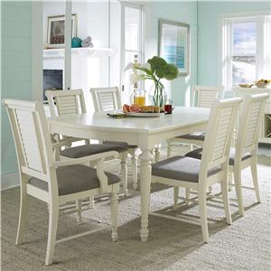 Broyhill Furniture Seabrooke 7 Piece Dining Table and Chair Set & Table and Chair Sets | Ft. Lauderdale Ft. Myers Orlando Naples ...