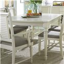 Broyhill Furniture Seabrooke Leg Dining Table - Item Number: 4471-532