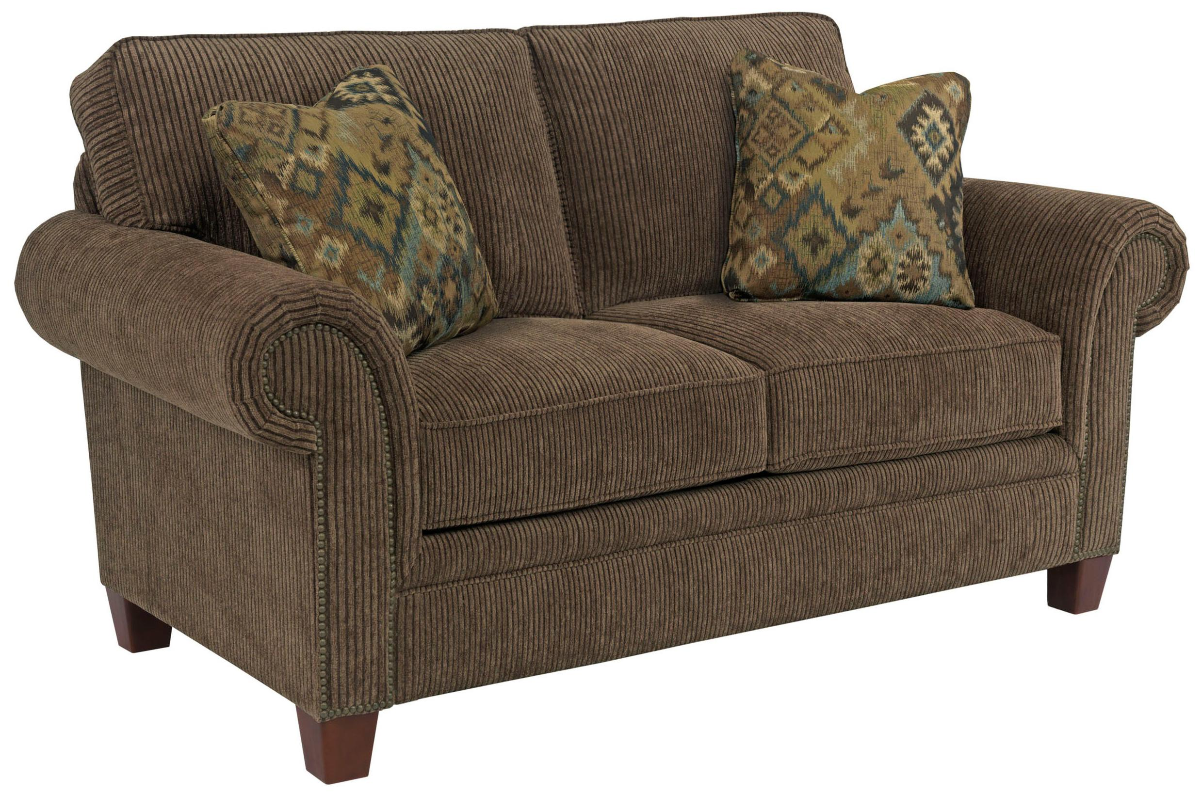 Broyhill Furniture Travis Transitional Loveseat With