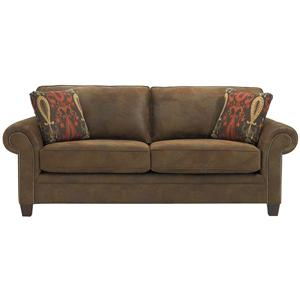 Broyhill Furniture Travis Transitional Queen IREST Sleeper Sofa