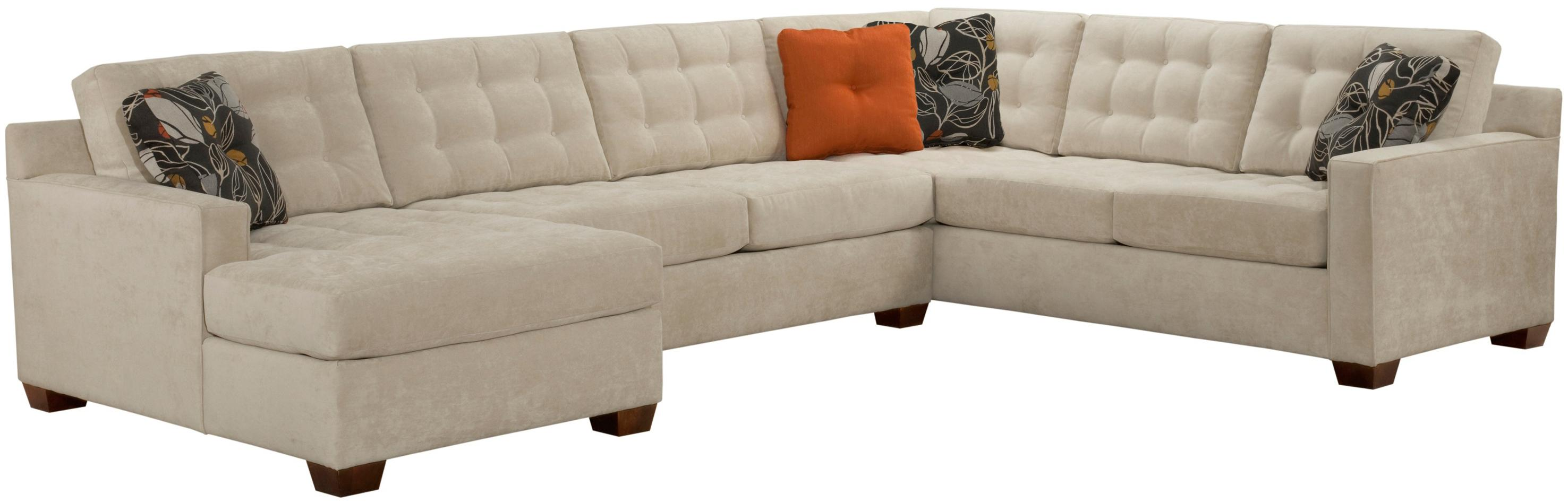 Broyhill Furniture Tribeca Contemporary Sectional Sofa with Left