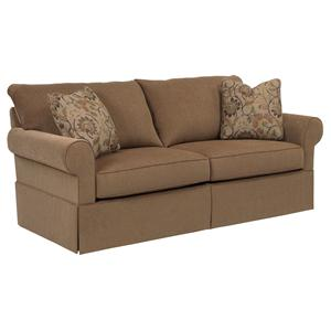 Broyhill Furniture Uptown Traditional Stationary Sofa