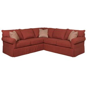 Broyhill Furniture Uptown Traditional Sectional Sofa