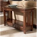 Broyhill Furniture Vantana Three Drawer Sofa Table