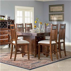 Broyhill Furniture Vantana 7 Piece Pub Table Set