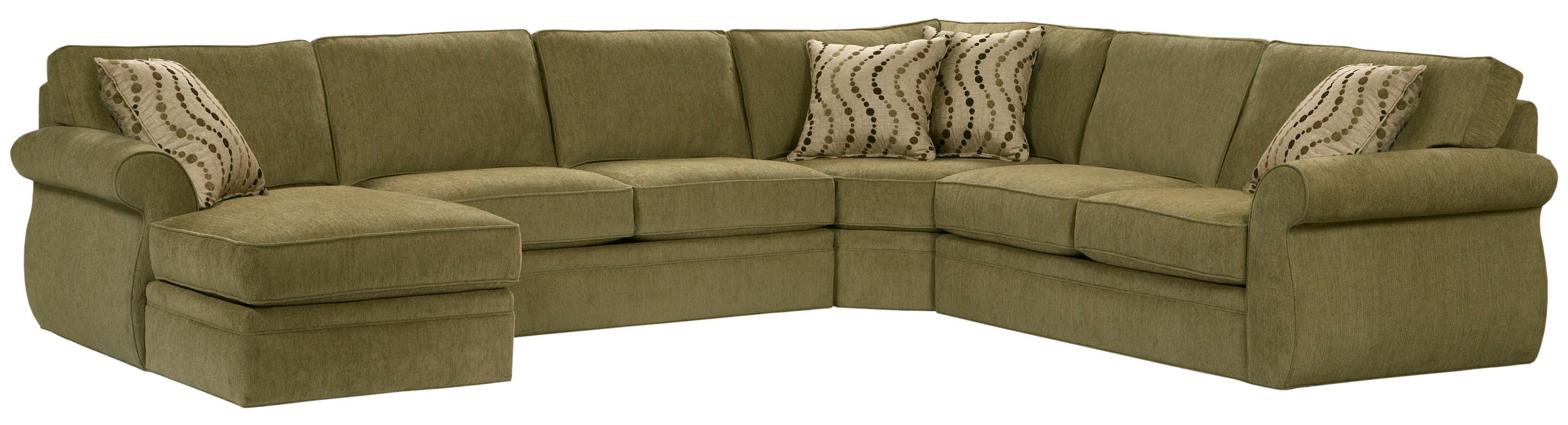 Broyhill Furniture Veronica Chaise Sectional Sofa AHFA Sofa