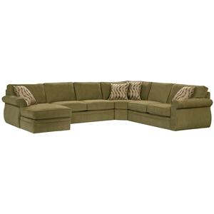 Broyhill Furniture Veronica Chaise Sectional  sc 1 st  Hudsonu0027s Furniture : sectionals tampa - Sectionals, Sofas & Couches