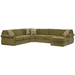 Broyhill Furniture Veronica Sectional Sofa