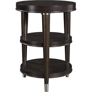 Broyhill Furniture Vibe Round Chairside Table
