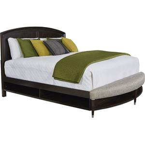 Broyhill Furniture Vibe King Panel Bed with Storage