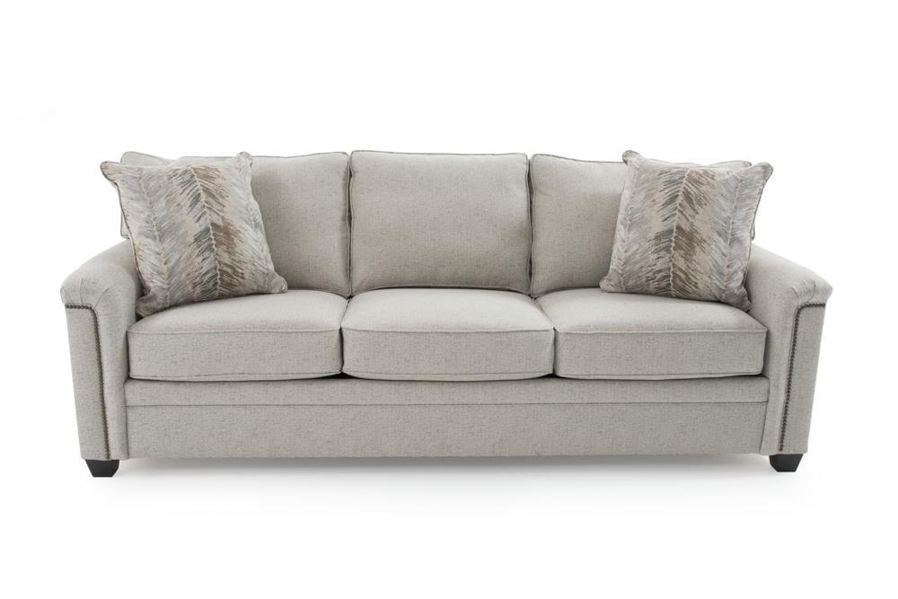 Broyhill Furniture Warren Sleeper Sofa w/ Goodnight Mattress - Item Number: 4287-7-4910-94