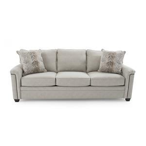 Broyhill Furniture Warren Sleeper Sofa w/ Goodnight Mattress