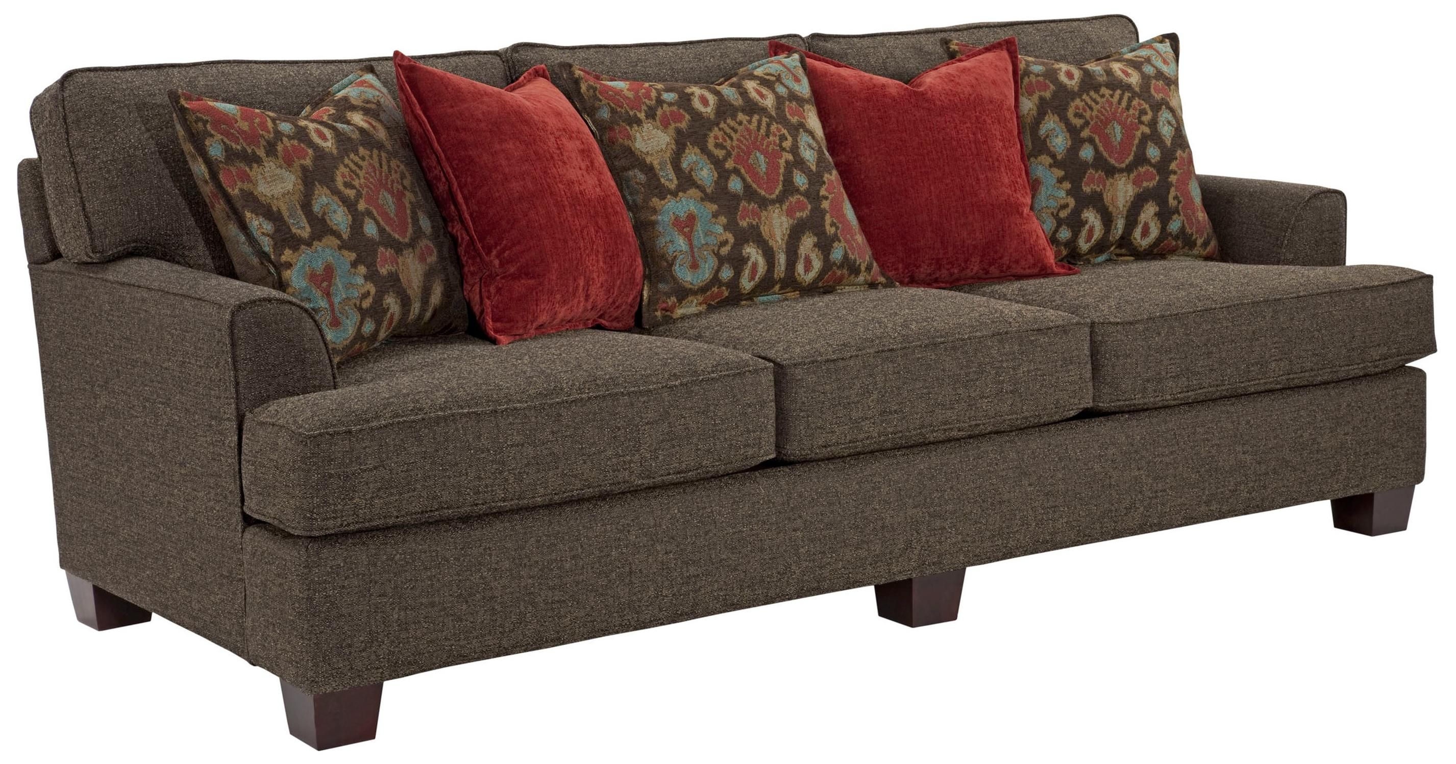 Westport Contemporary Sofa With Loose Pillow Back By Broyhill Express