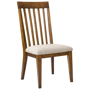 Broyhill Furniture Winslow Park  Upholstered Seat Side Chair