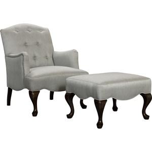 Broyhill Furniture Zelda Chair & Ottoman