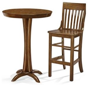 Brunswick Brunswick 2018 Brunswick Pub Table and 2 Stools