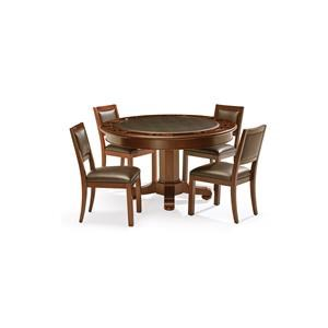 Heritage Game Table and 4 Chairs