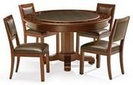 Brunswick Brunswick 2018 Heritage Game Table and 4 Chairs