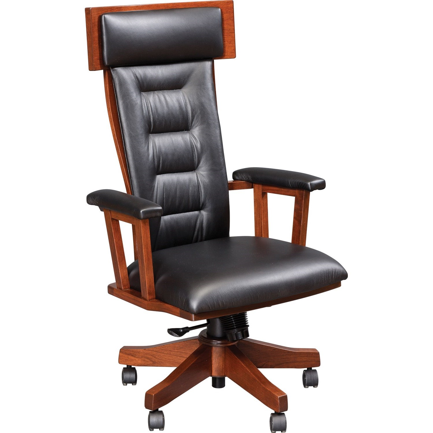 Deck Chairs Arm Desk Chair by Buckeye Rockers at Saugerties Furniture Mart