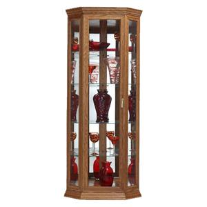 Buhler Corner  Single Door Corner Curio