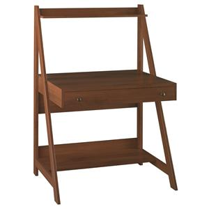 Alamosa Ladder Desk with Pull-Out Drawer & Top Shelf by Bush