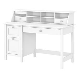 Computer Desk with 2 Drawer Pedestal and Organizer