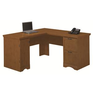 Grove Park Classic L-Desk by Bush