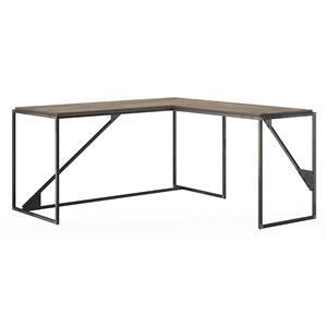 L Shaped Industrial Desk
