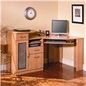 Bush Vantage  Contemporary Corner Desk with Retracting Keyboard - HM66315-03