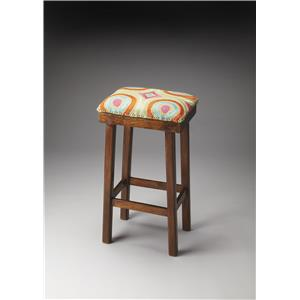 Butler Specialty Company Accent Seating Upholstered Bar Stool