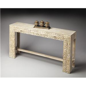 Butler Specialty Company Artifacts Console Table