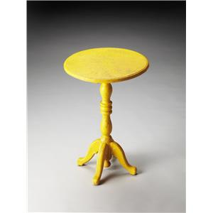 Butler Specialty Company Artifacts Pedestal Table