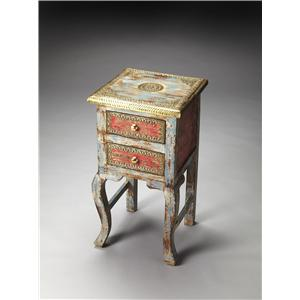 Butler Specialty Company Artifacts Chairside Table