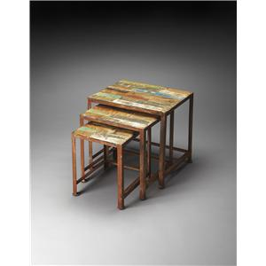 Butler Specialty Company Artifacts Nesting Tables