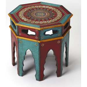 Butler Specialty Company Artifacts End Table