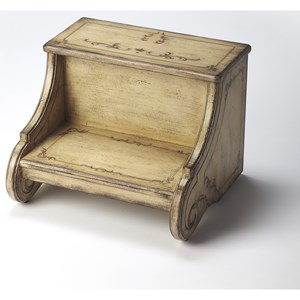 Sussex Gilted Cream Step Stool