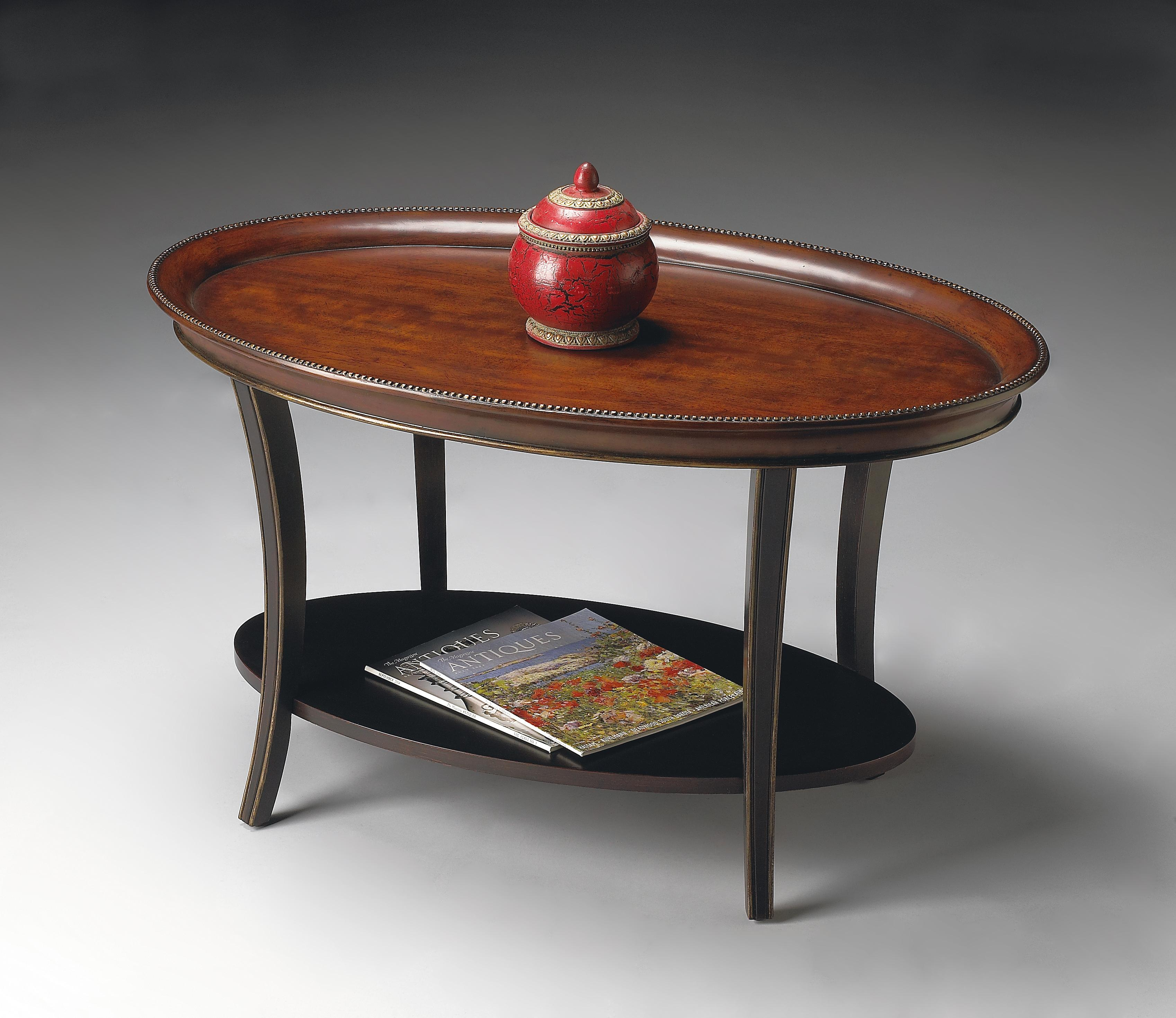 Butler Specialty Company Artist's Originals Oval Cocktail Table - Item Number: 1591104