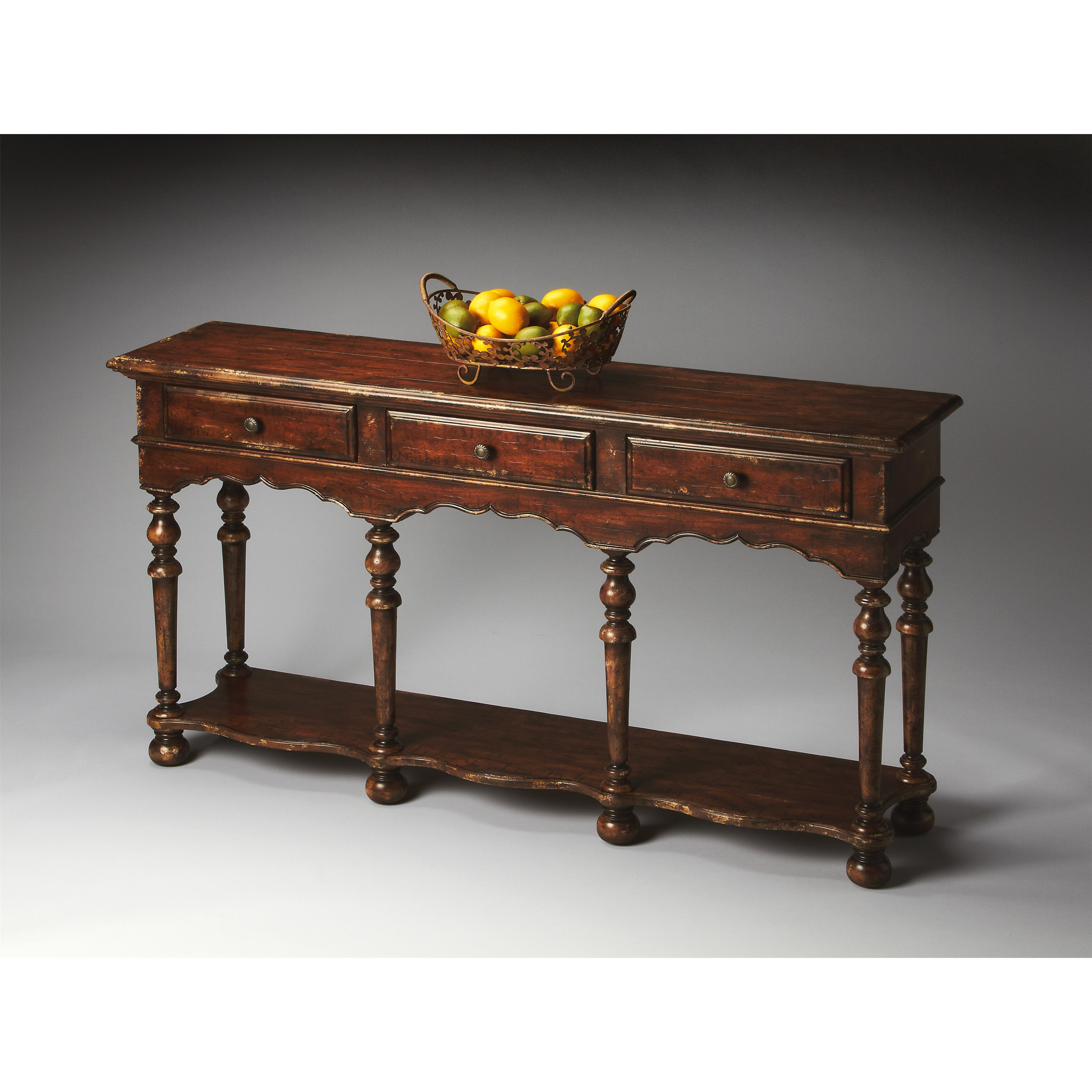 Butler Specialty Company Artist's Originals Console Table - Item Number: 3046228