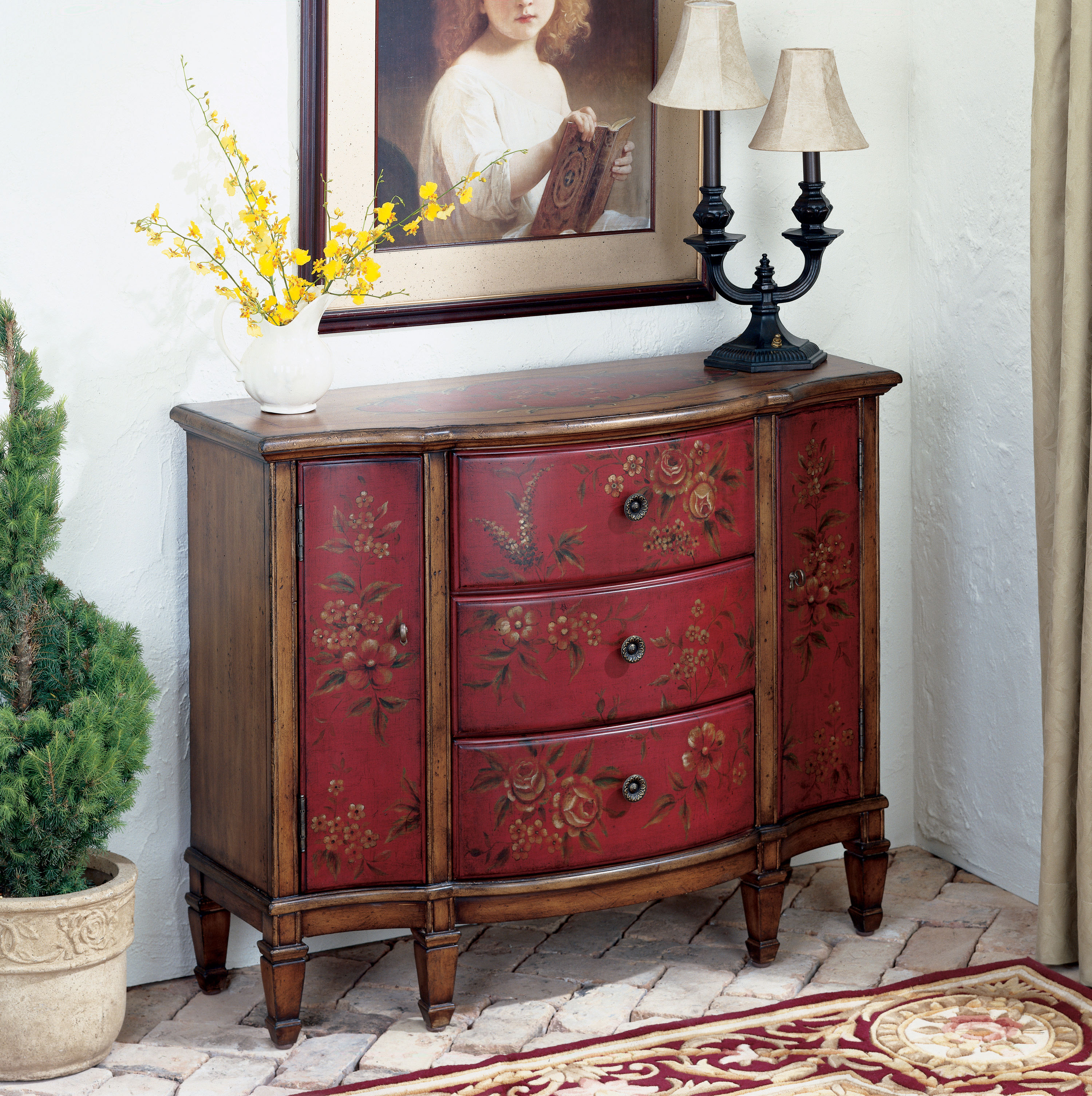 Artist's Originals Console Cabinet by Butler Specialty Company at Mueller Furniture