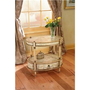 Butler Specialty Company Artist's Originals Oval Accent Table