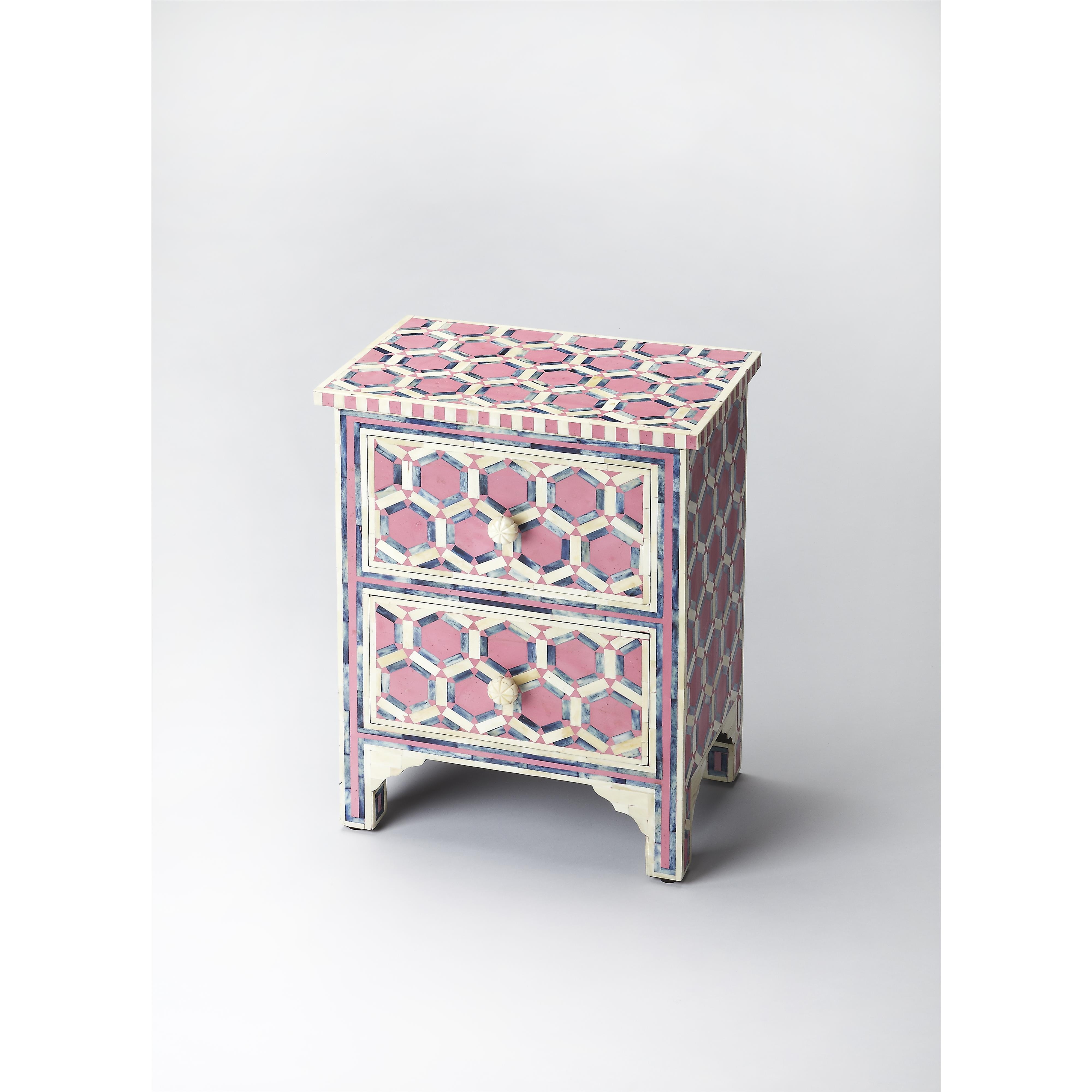 Butler Specialty Company Bone Inlay Accent Chest - Item Number: 2865324