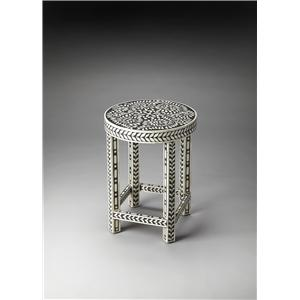 Butler Specialty Company Bone Inlay Accent Table