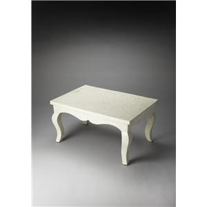 Butler Specialty Company Bone Inlay Cocktail Table