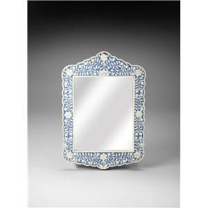 Butler Specialty Company Bone Inlay Wall Mirror