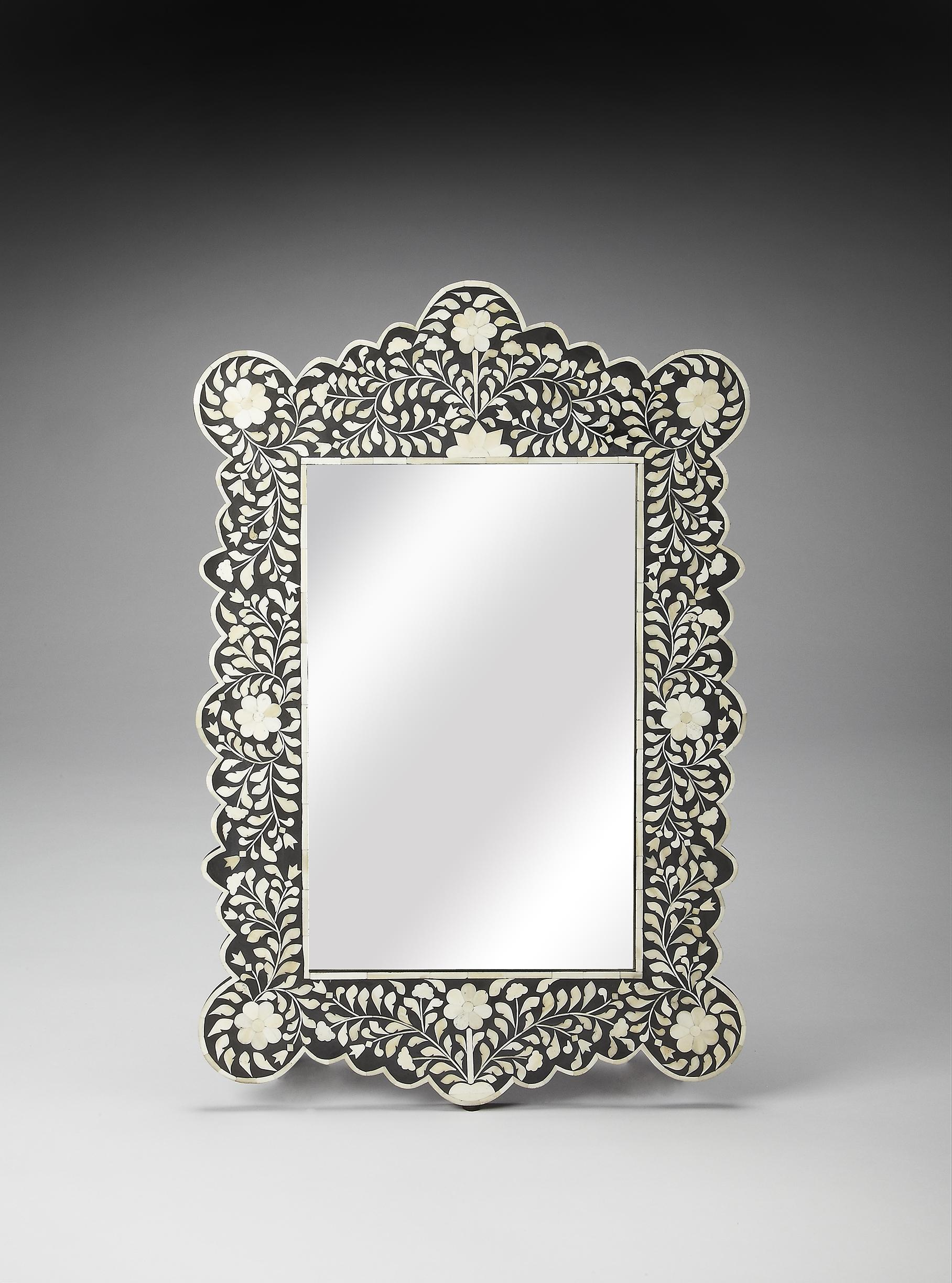 Butler Specialty Company Bone Inlay Wall Mirror - Item Number: 3482318